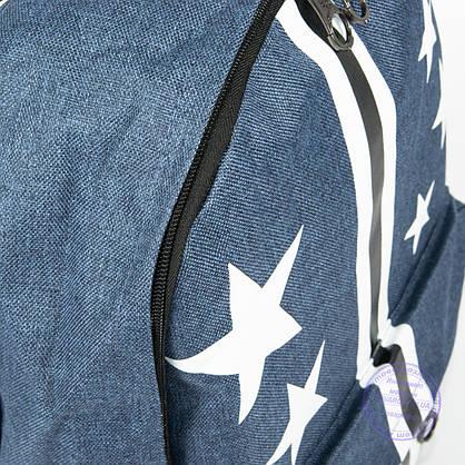 Оптом рюкзак для прогулок и школы - синий - 860, фото 3