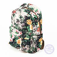 Оптом цветочный рюкзак для девочек - 024, фото 1