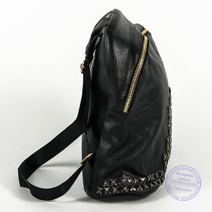 Оптом модный рюкзак из кожзама небольшого формата - 777, фото 3