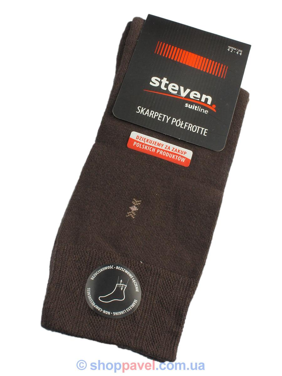 Шкарпетки Steven 038 тепл.коричн.