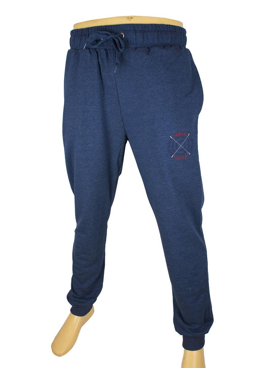 Чоловічі брюки Fabiani 5718 Н синього кольору