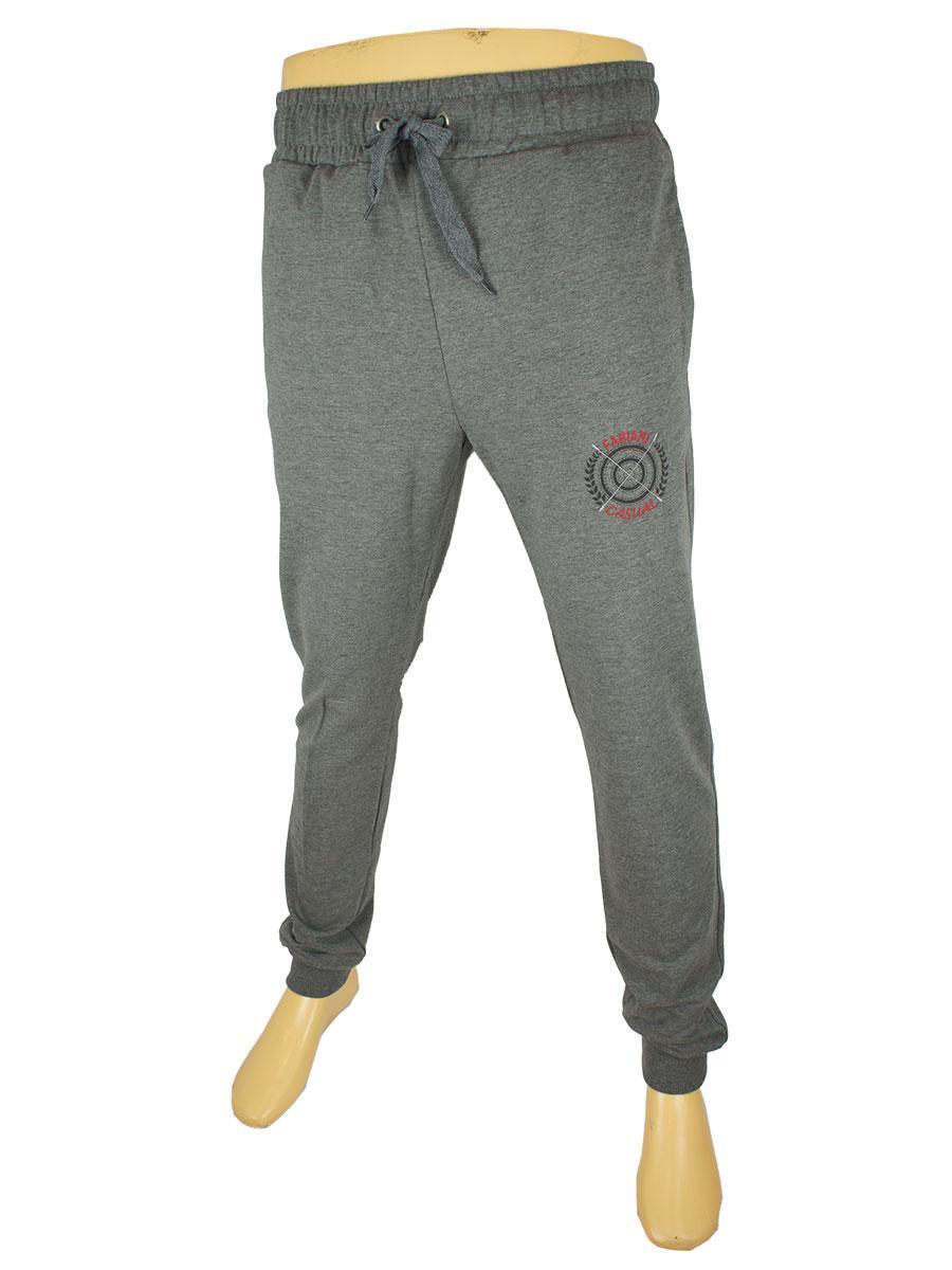 Чоловічі брюки Fabiani 5718 Н сірого кольору