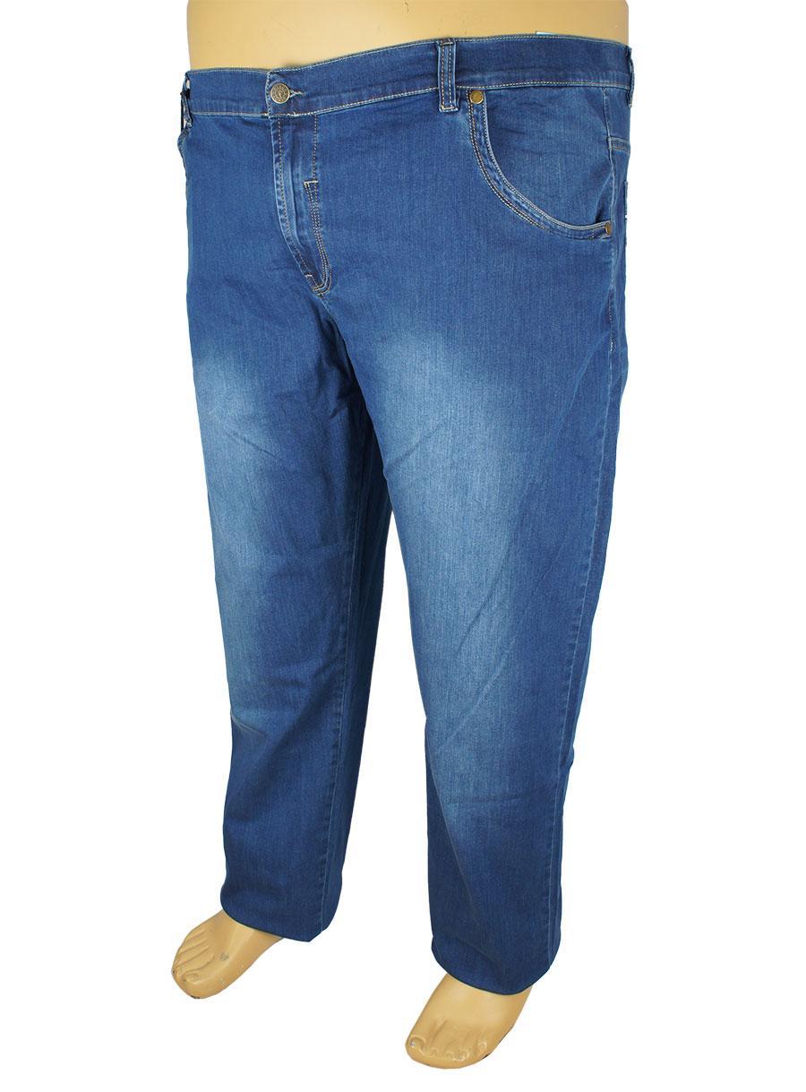 Чоловічі сині джинси Dekons 2301 у великому розмірі