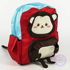 Оптом дитячий рюкзак для дівчаток та хлопчиків - червоний - 136