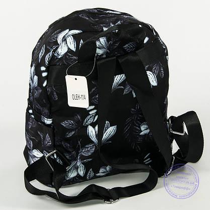 Оптом красивый рюкзак небольшого формата с листьями - 114, фото 2