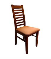 Прочный деревянный стул из массива хвойных пород деревьев. Модель ЖУР-16