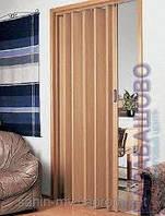 Дверь гармошка глухая венге