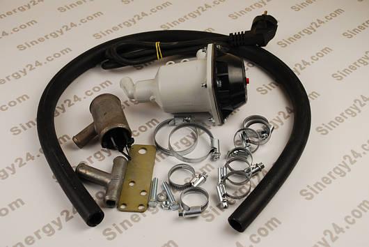 Предпусковой подогреватель двигателя Старт-М 1,5 квт (Fiat Ducato)+монтажный комплект