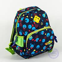 Оптом детский рюкзак для мальчиков и девочек - синий - 141