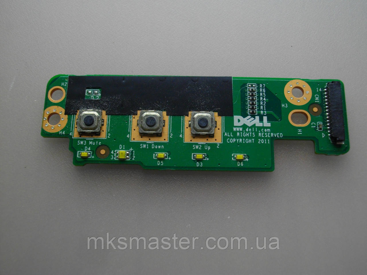 Плата з кнопками і індикацією DELL M4600