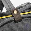 Оптом сумка-рюкзак для школы или для прогулок - черная - 118, фото 2