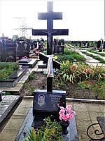 Пам`ятник габро базальт з хрестом
