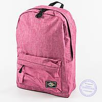 Оптом универсальный рюкзак для школы и прогулок - розовый - 145, фото 1
