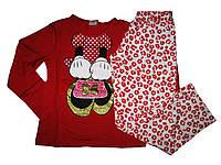 Пижама трикотажная для девочки, размер 110/116, Lupilu, арт. 319