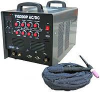 Сварочный инвертор W-MASTER TIG-200P AC\DC для аргонодуговой сварки алюминия.