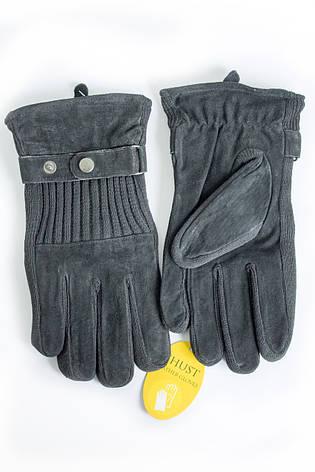 Мужские замшевые перчатки Shust Gloves Средние SG-160135s2, фото 2