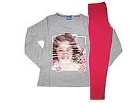 Пижама трикотажная для девочки, размеры 98/104,110/116, Lupilu, арт. 315