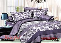 Двуспальный набор постельного белья из Ранфорса №18002 KRISPOL™