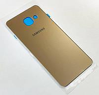 Задняя крышка (панель) Samsung A310F Galaxy A3 gold