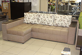Угловой диван серии 15-1-6-1.2 с большим спальным местом