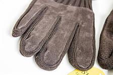 Мужские замшевые перчатки Shust Gloves BROWN Большие SGB-160135s3, фото 2