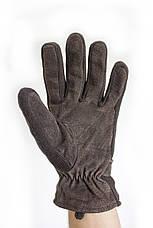 Мужские замшевые перчатки Shust Gloves BROWN Большие SGB-160135s3, фото 3