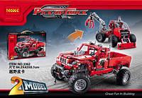 Конструктор Decool 3362 Тюнингованный пикап 2в1 (аналог Lego Technic 42029)