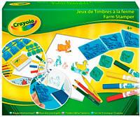 Набор для рисования с резиновыми штампами, Crayola (5311)