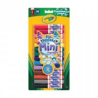 14 мини маркеров на водной основе, легко смываемых, Crayola (8343)