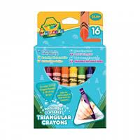 Crayola, 16 трехгранных восковых мелков (52-016Т)