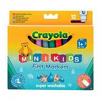 12 легко смываемых широких фломастеров, Crayola (8325)