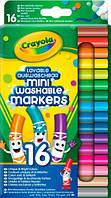 16 легкосмываемых минифломастеров на водной основе, Crayola (58-5055)