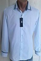 Рубашка мужская белая р.46-52