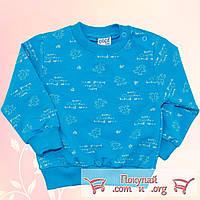 Кофта для мальчика с кнопками Размеры: 86-92-98-104 см (5488-3)