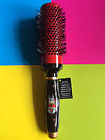 Расческа, щетка для укладки и сушки волос феном Olivia Garden Love Thermal. Браш 46 мм. Брашинг 46 мм.