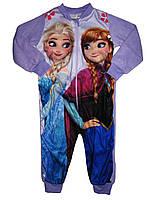 Пижама флисовая для девочки, размер 86/92, Lupilu, арт. 312/1, фото 1
