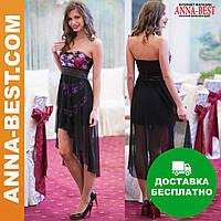 """Женское платье с пайетками короткое """"Акапулько"""""""