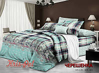 Двуспальный набор постельного белья из Ранфорса №181255 KRISPOL™