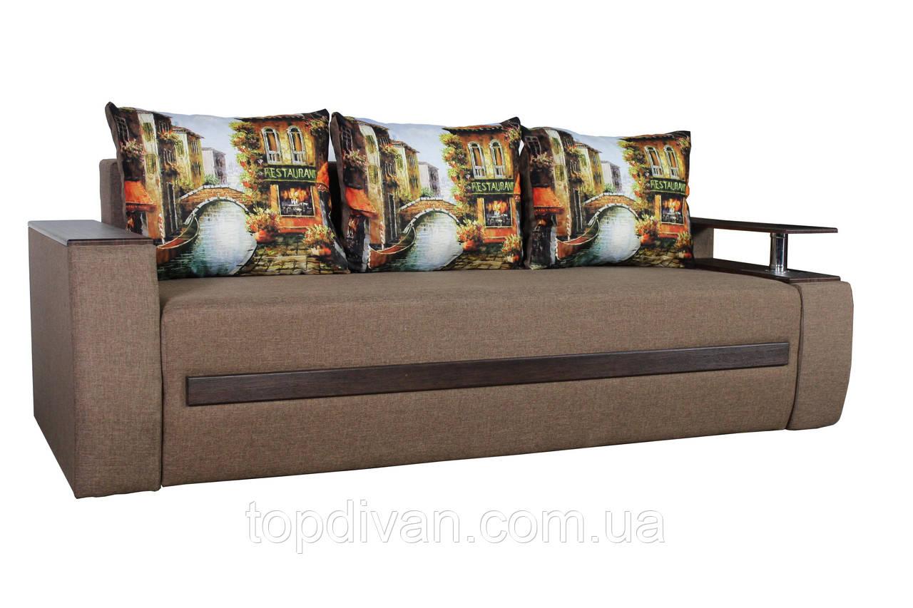 """Диван євро-книжка """"Гаспар"""" тканина Венеція. Габарити: 2,35 х 1,05 Спальне місце: 1,90 х 1,60"""