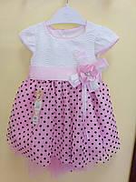 Нарядное детское платье (от 1 до 4 лет)