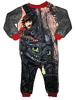 Пижама флисовая для мальчика, размеры 86/92,98/104,110/116, Lupilu, арт. 311