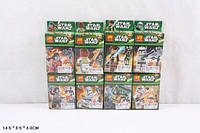 Конструктор LELE Звездные войны 78014 480шт2 8 видов, в собр,кор,14,584 см