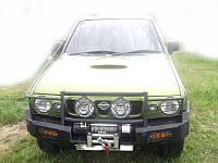 Силовой бампер Nissan Terrano (передний + задний)