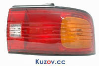 Фонарь задний Mazda 323 седан (BG) 89-94 C правый (DEPO) рифл. стекло 216-1939R-UE