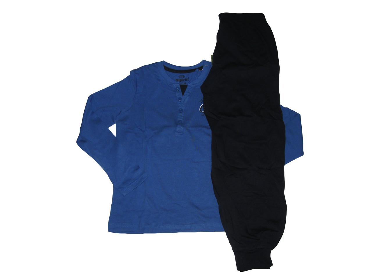 Пижама трикотажная для мальчика, размеры 122/128, Pepperts, арт. 321