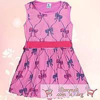 Летнее платье для девочек Размеры 5-6-7-8 лет (5537-1)