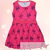 Турецкое летнее платье для девочки Размеры 5-6-7-8 лет (5537-3)