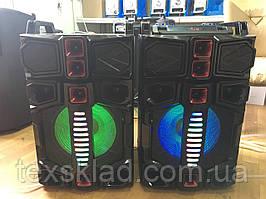 Комплект акустики с радиомикрофоном Wx 7314 350W (USB/Bluetooth/FM)