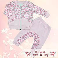 Спортивный костюм для малышей Размеры: 68-74-80 см (5544-1)