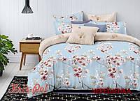 Двуспальный набор постельного белья 180*220 из Ранфорса №182025 KRISPOL™